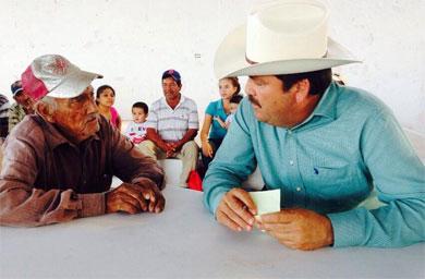 Ofreció Alcalde audiencias en Villa Morelos