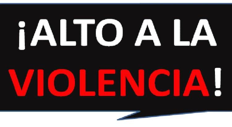 A marchar contra la violencia