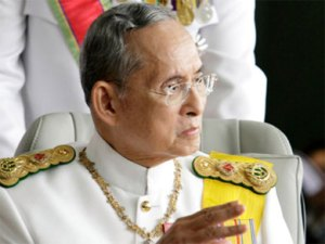 El rey Bhumibol Adulyadej