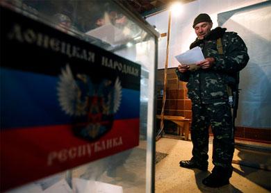 Votan separatistas por nuevos líderes en Ucrania