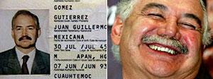 Gómez Gutiérrez y Salinas de Gortari: inseparables.
