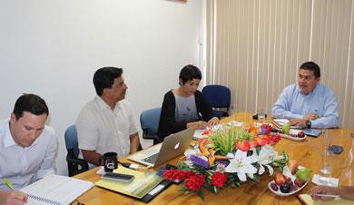 Celebra Rector de la UABCS reunión de trabajo con miembros de Wildaid