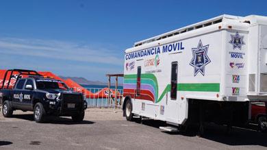 Instalarán comandancia móvil en Playa El Tecolote