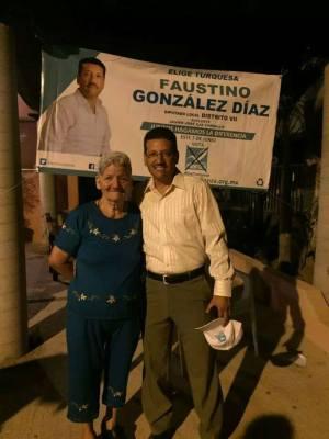 Faustino González, candidato de Nueva Alianza