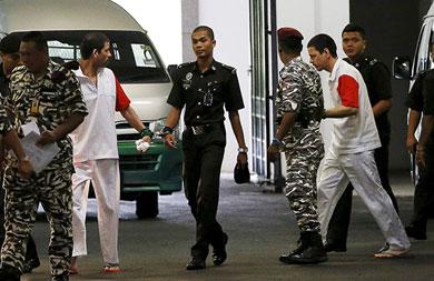 Se acabaron los recursos a mexicanos condenados a muerte en Malasia
