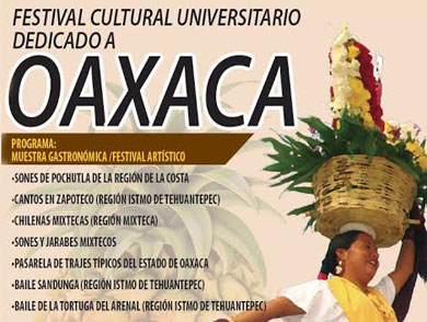 Festival Cultural dedicado a Oaxaca