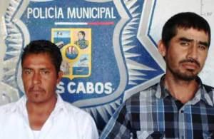 Raúl Felisardo Armenta Varela y  Jesús Cuevas García.