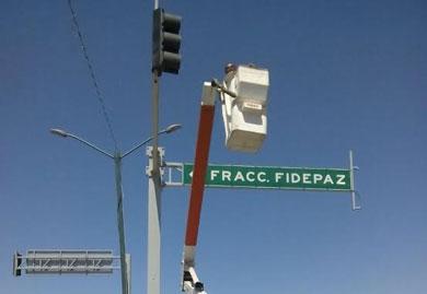 Arreglan semáforos de la capital
