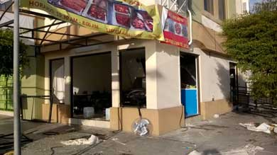 Explotó un restaurante de comida china