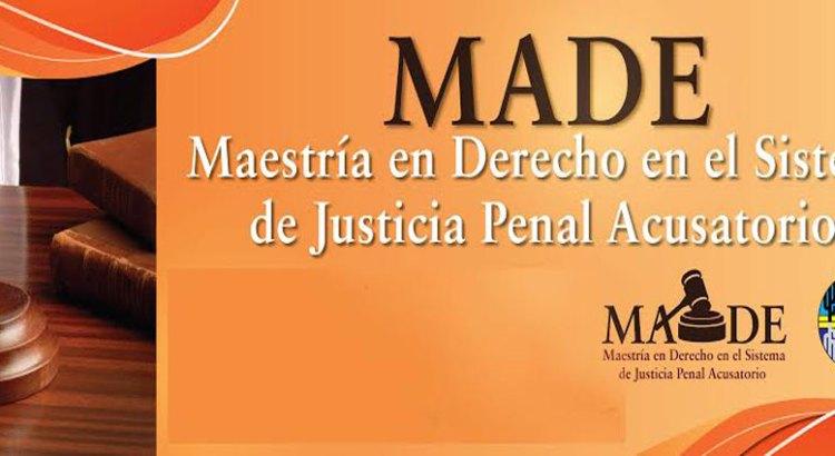 Abren convocatoria para Maestría en Derecho