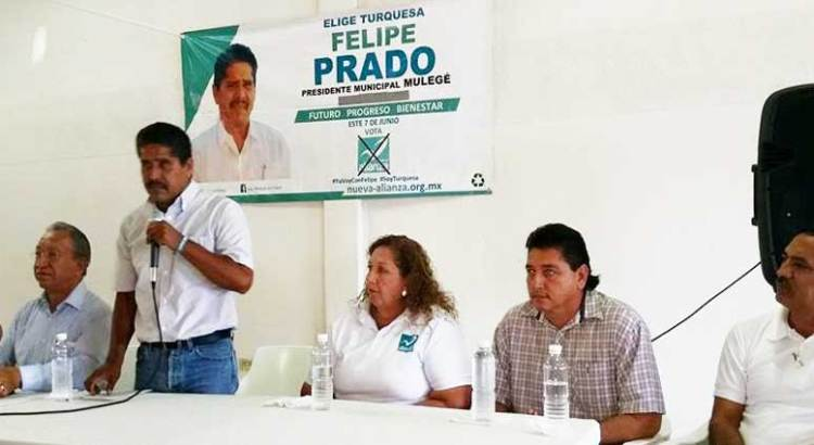 Reafirma Isaías González su apoyo a Felipe Prado