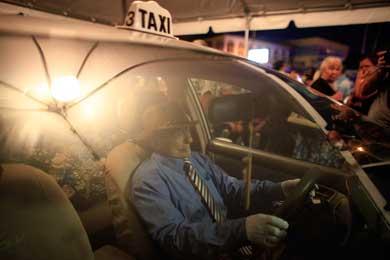 Velan a taxista