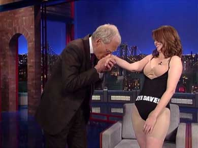Adiós a David Letterman