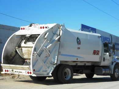 Afectó Blanca la recolección de basura