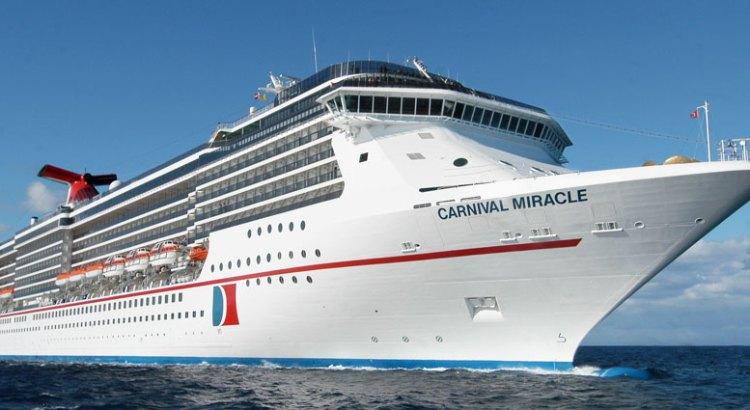 "Arribará a La Paz el Crucero ""Carnival Miracle"""