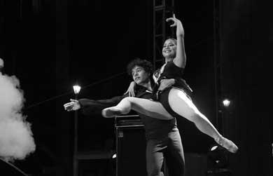 Homenaje a grandes maestras de la danza