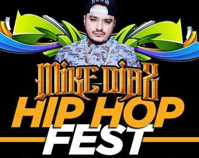 Mike Díaz en el Hip Hop Fest
