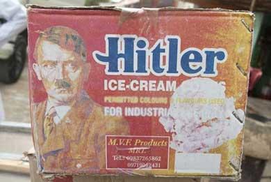 ¿Calor? Qué tal un helado Hitler