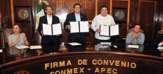 convenio con el Conmex-APEC.