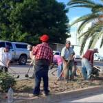 limpieza de parques y áreas verdes