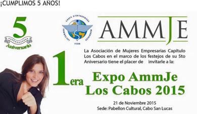 Con Expo celebra AMMJE 5º Aniversario