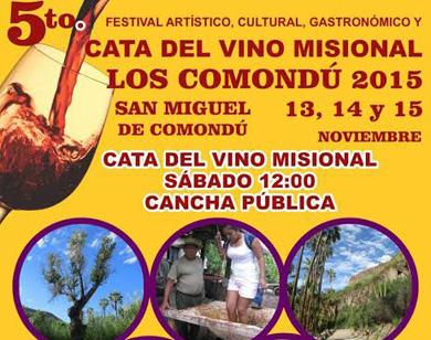 Quinto Festival del Vino Misional
