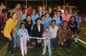 inauguración de la Liga de Fútbol Soccer Zona Norte,