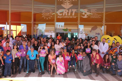 Egresan niños y jóvenes del CRIT BCS