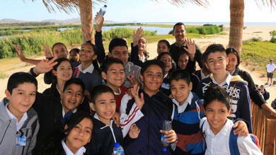 Inculcan en niños amor por el Estero San José