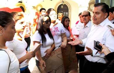 Ofrece Gobierno Municipal ser voz de estudiantes del ITES