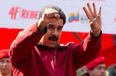Maduro pide a Obama levantarle sanciones