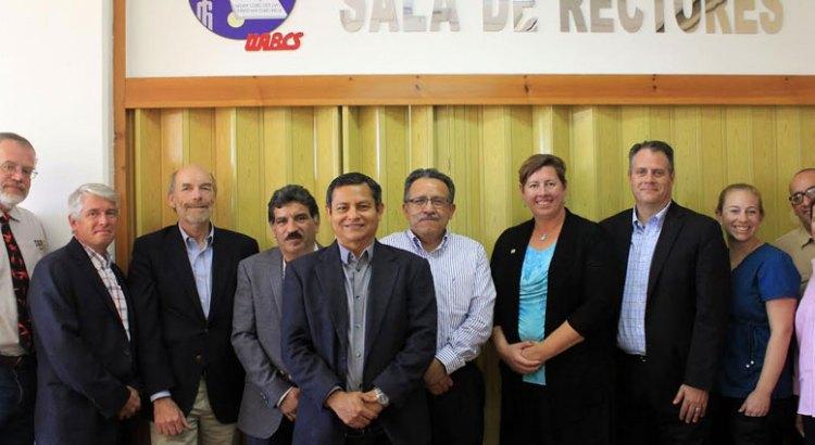 Fortalecerán UABCS y Universidad de Colorado cooperación e intercambio académicos