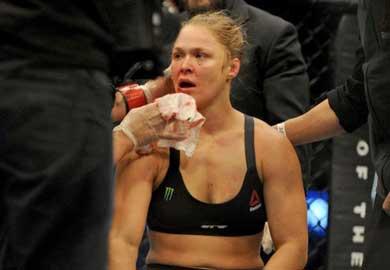 Ronda Rousey pensó en el suicidio