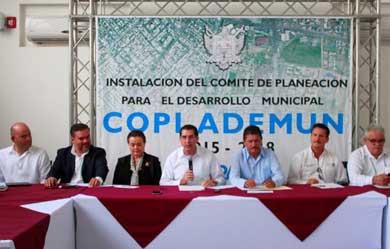 Instalaron el COPLADEMUN de La Paz