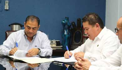 Firma Gobierno cabeño convenio con UABCS