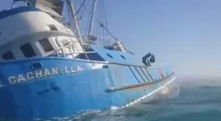 No hay avances en el rescate del buque «Cachanilla»