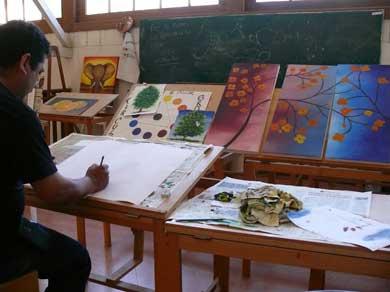 Continúan cursos-taller en la Casa de la Cultura