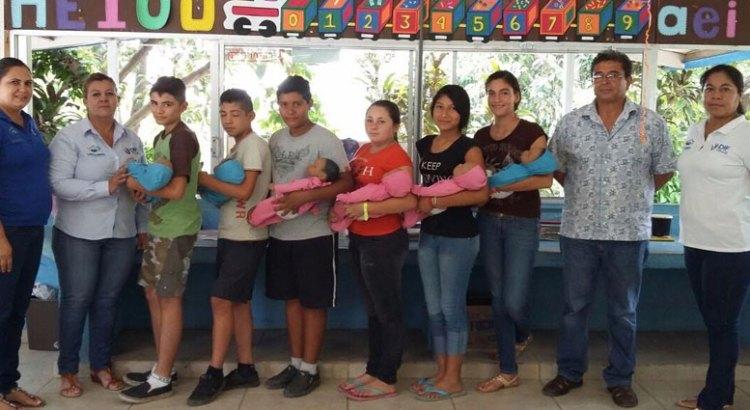 Entrega DIF Los Cabos bebés virtuales