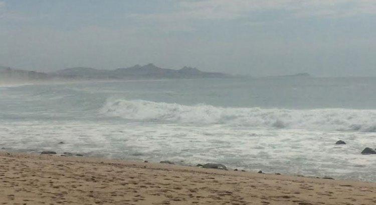Registran Mar de Fondo en Los Cabos