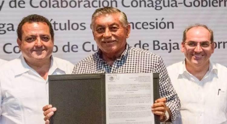 De gira por BCS el titular de la CONAGUA