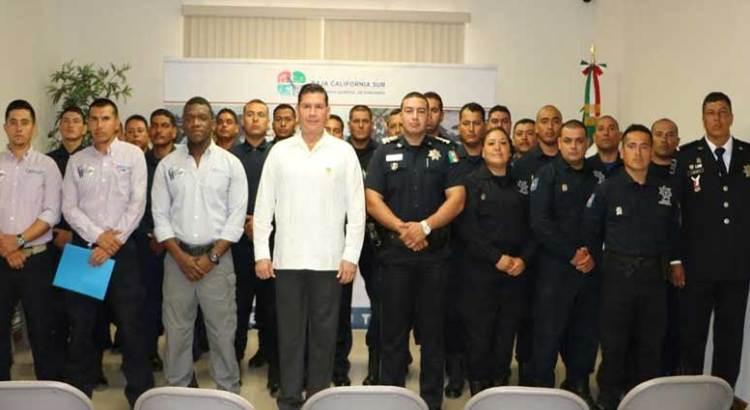 Capacita policía colombiana a la PEP