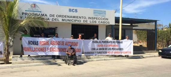 Integrantes de la cooperativa Barrio la Playa