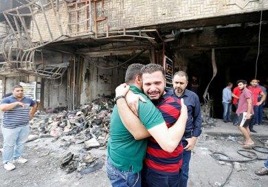 Luto y rabia en Irak