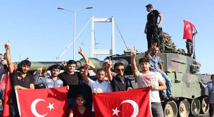 Le tocó al delegado de CONANP el fallido golpe de estado en Turquía