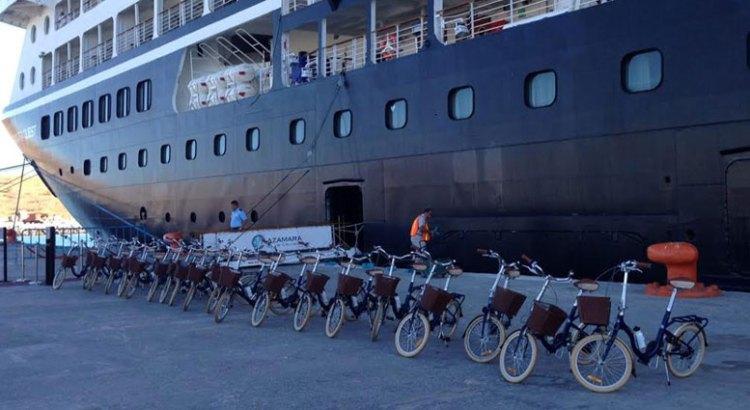 Recibe La Paz al crucero Azamara Quest