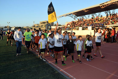 Inicia torneo de fútbol  internacional