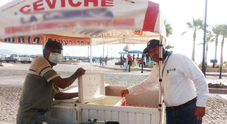 Prohibe COEPRIS venta de comida en vía pública
