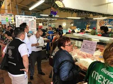 Realiza PROFECO visitas a mercados Madero y Bravo
