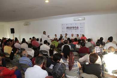 Inicia Morena campaña de afiliación en todo el estado