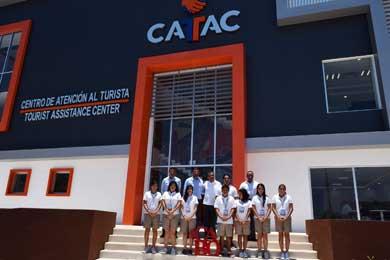 Dan bienvenida a jóvenes embajadores turísticos del CATAC